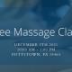 free massage class december 5th
